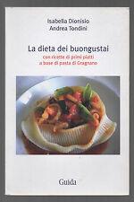 LA DIETA DEI BUONGUSTAI con ricette di primi piatti a base di pasta di Gragnano