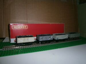 HORNBY MAINLINE 37133 BR 16t STEEL MINERAL COAL WAGON B265451 +  JOB LOT of 4