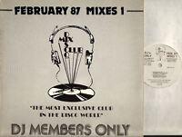 """FEBUARY 87 MIXES 1 various (UK Original) 12"""" EX/EX House, Soul, DMC 49/1, Mixed"""
