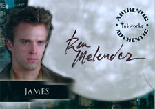 Angel Season 3 Autograph Card A20 Ron Melendez as the vampire James