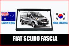 FIAT SCUDO 2007 - 2013 DOUBLE DIN FACIA OEM TYPE AUDIO UPGRADE KIT