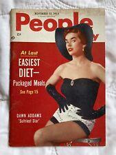 People Magazine Nov, 1954 NY USA Dawn Addams Mitzi Gaynor Dalai Lama Articles