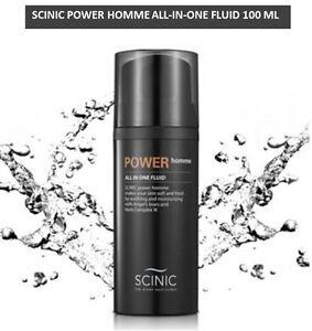 SCINIC Power Homme ALLin1 Fluid 100 ml Skin Lotion&Essence Whitening Wrinklecare