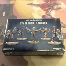 Warhammer 40K Space Wolves Wulfen Box New Sealed
