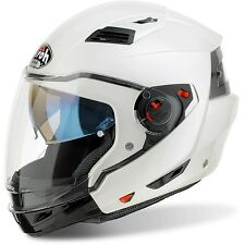 CASCO HELMET CROSSOVER EXECUTIVE COLOR WHITE GLOSS AIROH TG XS