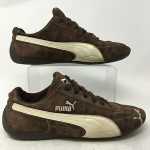 Puma Running Sneakers Womens 8 Brown Suede Athletic Shoes Low Top Comfort