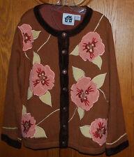 Storybook Knits Large Cardigan Sweater & Tank Top Velvety Ensemble 2PC Set HSN