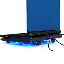 """Lumière Refroidisseur PC Portable Ventilateurs Support Pour Ordinateur 14 """"15.6"""""""