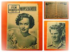 FILM COMPLET N° 206 - 18/5/1950 -Monseigneur -B.Blier-Fernand Ledoux-Nadia Gray
