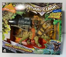 Primal Clash Dino Commander Triceratops Figure Walmart Exclusive 2018 Lanard New
