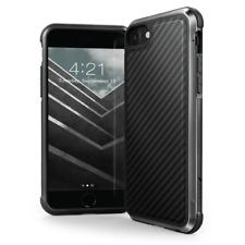 X-Doria Defense Lux Tough Rear Case for Apple iPhone SE 2020, Black Carbon Fiber