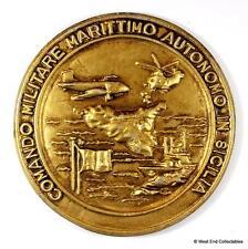 Comando MM Autonomo Sicilia -Marina Militare Italian Navy Tampion Badge Crest