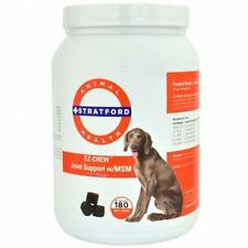 EZ-Chew Max Strength Joint Support With MSM Dogs - 180 Soft Chews, New, Free Shi