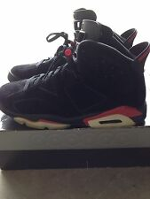 Air Jordan 6 Retro Black/Varsity Red 2010 Size 12