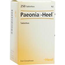 Paeonia comp. Heel comprimés 250 pièces pzn 8541770