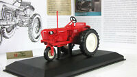T-28 Tricycle Tractor Red Soviet Farm Vehicle USSR 1958 Year 1:43 Scale HACHETTE