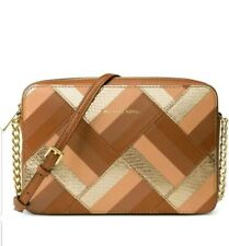 Michael Kors Marquetry Patched work Travel browns/gold  32f6gm8c2l-