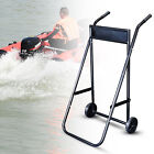 TOP! Heavy Duty Foldable Outboard Motor Trolley Stand / Transport 70KG USA