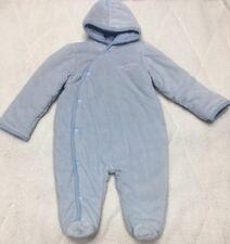 Calvin Klein Jeans Infant One Piece Baby Snow Suit Light Blue 24 M Months Hood