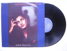 ANNE PIGALLE - Por qué Does It have to be this way , Zang Tuum Tumb 12cert2 EX