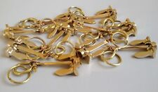 Lot of 10 Brass Anchor Keychains Nautical keychain handcuff keychain Gift Items