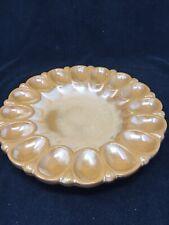 Frankoma Pottery Egg Plate 819