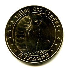86 ROMAGNE La Vallée des Singes 5, Lémurien, 2011, Monnaie de Paris