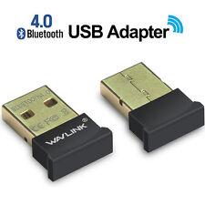 Wavlink Wireless Mini USB2.0 Bluetooth 4.0 Adapter CSR chip Dongle For PC Laptop