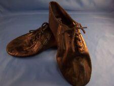 Dance Jazz Shoes by Bloch Black Tie Up Style Split Sole Size 3