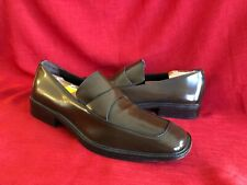 Via Spiga Men's Brown Leather Loafer Shoe Size 10.5
