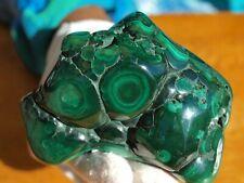 Bright Green Birdseye Malachite Mineral Specimen