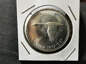 1967 Canada Silver Dollar. UNC Bid on it Now 🙃
