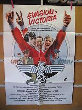 A2550 EVASION O VICTORIA PELE MICHAEL CAINE FUTBOL