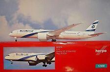 Herpa Wings 1:500 Boeing 787-9 ELAL Airlines 4x-eda 531214 modellairport 500