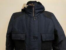 G804 WOMENS SESSUN NAVY BLUE FLEECE LINED HOODED CAMPFIRE COAT UK XS BNWT £245