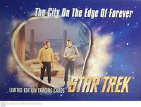TOS Star Trek VHS SkyBox Card: City on the Edge of Forever #28 EXCLUSIVE (1993)