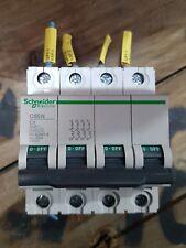 Schneider C60N 4 Pole Circuit Breaker