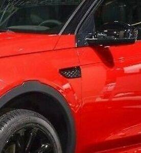 Land Rover Discovery Sport Gloss Black Mesh Fender Side Vent Pair Dynamic OEM