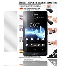 6x Displayschutzfolien für Sony Xperia Go ST27i Schutzfolie Klar Folie