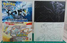 Pokemon Black and White Version 2 Collector's Edition Strategy Guide/Pokedex/...