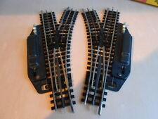 Trix Express 4362 , elektr. Weichen R1-30°, 1 Paar ,  Spur H0