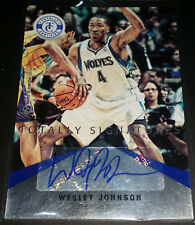 Wesley Johnson 2012-13 Totally Certified TOTALLY BLUE SIGNATURES Card (#d 09/15)