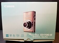Canon PowerShot Digital Camera SD1100 IS Digital ELPH Accessories & Box Tested