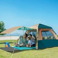 3-4 Person Outdoor Camping Waterproof 4 Season Family Tent Hiking Double layer