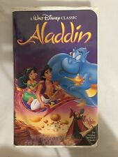 Aladdin (VHS, 1993) Walt Disney Classic Black Diamond