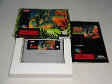 Jungle Strike SNES Spiel komplett mit OVP und Anleitung