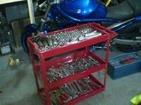 Tool Trolley Roll Storage Motorcycle Repairs Portable Mobile Or Repairs Mechanic