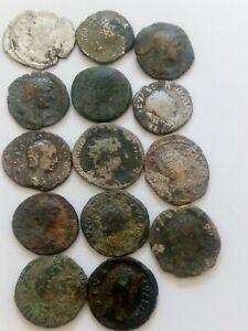 063.Lot of 14 Ancient Roman Denarius