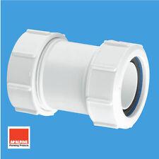 "McAlpine Multifit Universal Coupler Socket for 50mm 2"" Waste Pipe Connector Z28M"