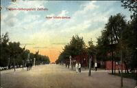 Zeithain Sachsen ~1914/18 Truppen Übungsplatz 1. Weltkrieg Kaiser Wilhelm Straße